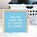 Felt Like Sharing Light Blue Felt Letter Board