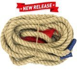 EasyGoProducts 50' Tug-of-War Rope with Flag
