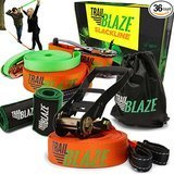 Trailblaze Slackline with Training Line, Tree Protectors + Ratchet Cover