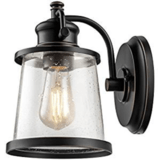Globe Electric Charlie One-Light Outdoor Wall Mount Sconce