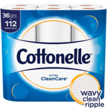 Cottonelle Ultra Clean Care, 36 Double Rolls