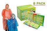 Lingito Rain Poncho Family Pack