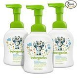Babyganics Alcohol-Free Foaming Hand Sanitizer, Pack of 3, 8.45 oz. each