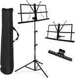 Kasonic 2 in 1 Dual-Use Folding Sheet Music Stand & Desktop Book Stand