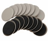 Smart Surface 16 Pack Round Carpet Furniture Sliders