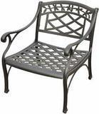 Crosley Furniture Sedona Solid-Cast Aluminum Outdoor Club Chair