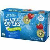 Capri Sun Roarin' Waters Flavored Water Beverage, 6-Ounce Pouches, Pack of 10