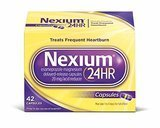 Nexium 20mg 24-Hour Delayed-Release Heartburn Relief Capsules, 42 Count