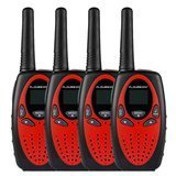 Floureon 22-Channel FRS/GMRS Two Way Radios (4 pack)