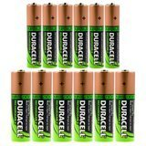 Duracell Duralock Rechargeable Batteries 6 AA & 6 AAA Battery, 12 Pack