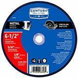 Century Drill and Tool Metal Abrasive Saw Blade, 6-1/2-Inch