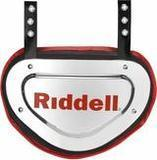 Riddell Sports Back Plate Chrome Finish