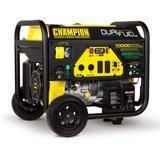 Champion  Dual Fuel Portable Electric Generator with Electric Start