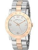 Marc by Marc Jacobs Women's Amy Two-Tone Stainless Steel Watch with Link Bracelet