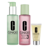Clinique 3-Step Skin Care System for Skin Types 3 and 4
