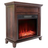 "AKDY 36"" 1500W Wall Mount Electric Fireplace Heater"