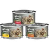 American Journey Pate Poultry & Beef Variety Pack Grain-Free Canned Cat Food
