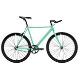 Critical Cycles Classic Fixed-Gear Single-Speed Track Bike with Pursuit Bullhorn Bars