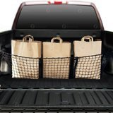 Zone Tech Three-Pocket Mesh Storage Net