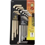 Bondhus Ball End L-Wrench Double Pack- 22 Pieces