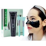 BONVITA Charcoal Peel Off Mask and Brush Kit