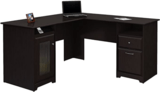Bush Furniture Cabot L-Shaped Desk