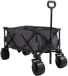 Patio Watcher Collapsible Folding Utility Wagon