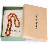 Cici's Story Handcrafted Amber Necklace