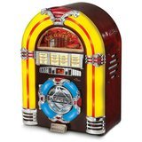 Crosley Jukebox with CD Player and LED Lighting