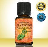 WellnesScent 100% Pure Organic Frankincense Essential Oil
