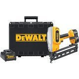 DeWalt 18V, 16-Gauge Angled Finish Nailer Kit