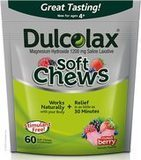 Dulcolax Soft Chews Saline Laxative