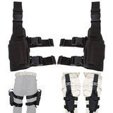 aokur Left Hand & Right Hand Adjustable Universal Waterproof Pistol/Gun Drop Puttee Leg Thigh Holster