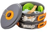 OUTDOOR ANYWHERE Camping Cookware Mess Kit