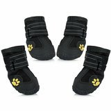 Expawlorer Water-Resistant Dog Boots for Medium-Large Dogs