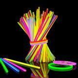 "Lumistick 100 Count 8"" Assorted Colors Glow Sticks"