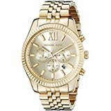 Michael Kors Lexington Gold-Tone Stainless Steel Watch