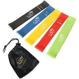 Fit Simplify Set of 5 Resistance Loop Exercise Bands