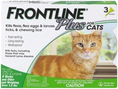 Frontline Frontline Plus Flea and Tick Treatment for Cats