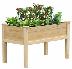 Greenes Fence Original Cedar Elevated Garden Bed