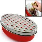 Hicook Cheese Grater with Food Storage Container & Lid