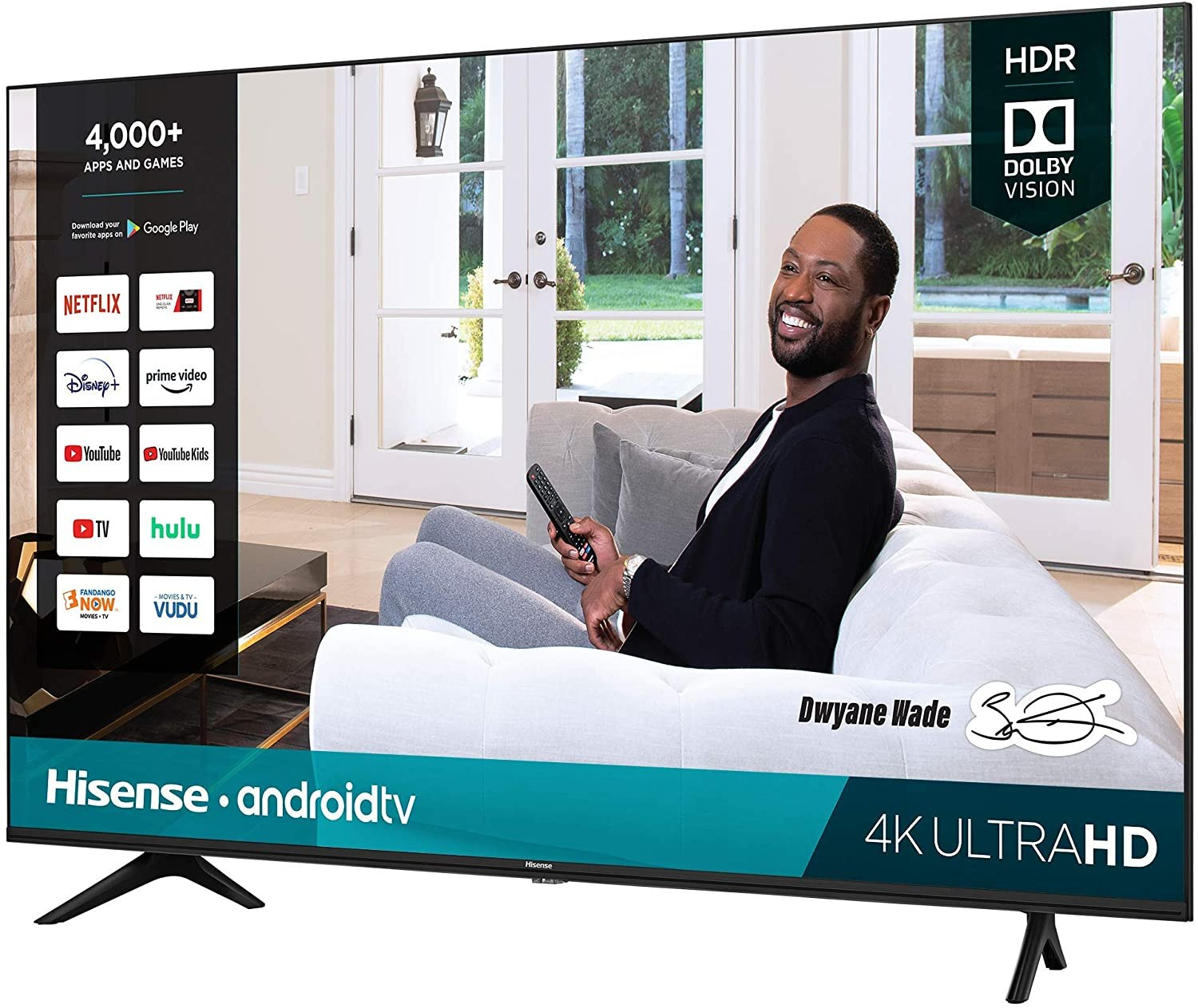 "Hisense 55"" H65G Series Android Smart TV"