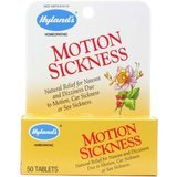 Hyland's Motion Sickness Relief Tablets, Natural Relief of Nausea and Dizziness