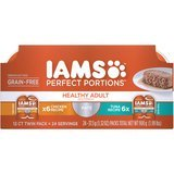 Iams Perfect Portions Healthy Grain-Free Variety Pack Wet Cat Food (12 twin packs, 2.6 ounces each)