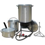King Kooker Portable Propane Outdoor Deep Frying/Boiling Package