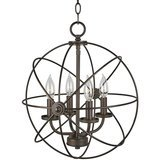 Kira Home Kira Home Orbits II Modern Sphere Chandelier