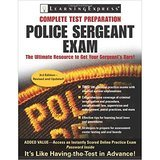 Learning Express, LLC Police Sergeant Exam (Police Sergeant Exam, 3rd Edition