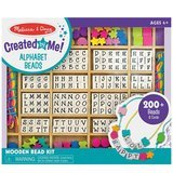 Melissa & Doug Deluxe Wooden Stringing Beads Jewelry-Making Kit