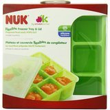 NUK Homemade Baby Food Flexible Freezer Tray and Lid Set