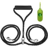 Peteast Dual Double Dog Leash